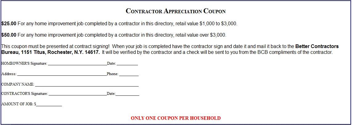1143x406  sc 1 st  The Better Contractors Bureau & Coupon |